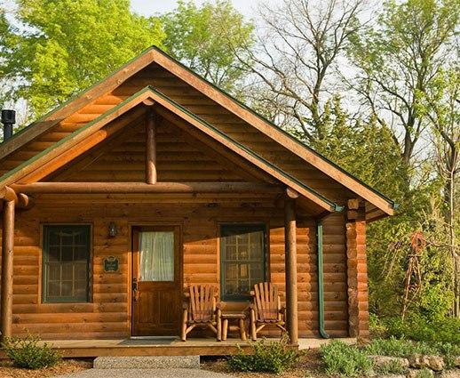 Log Cabins Goldmoor Inn